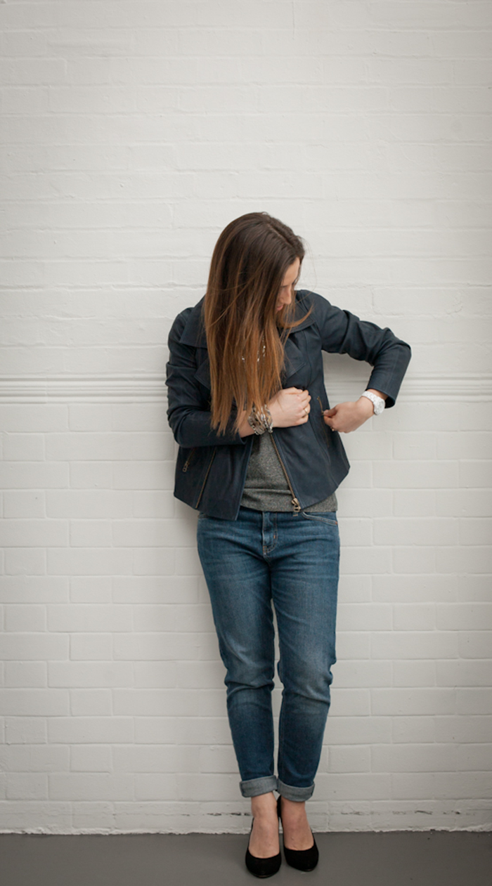 MiH Jeans How to wear the Boyfriend Jean