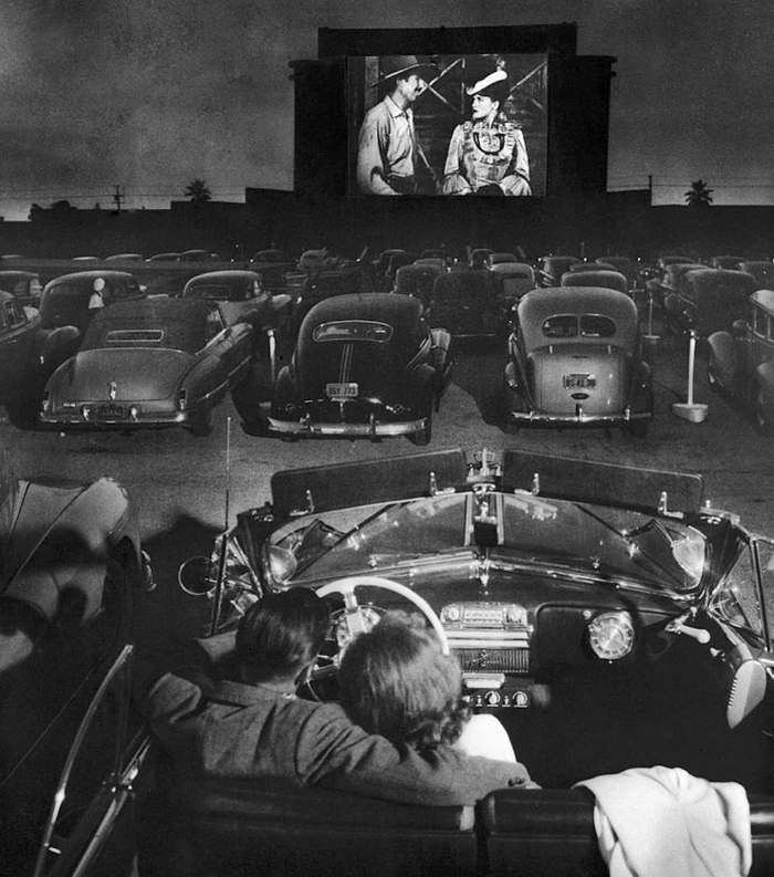 Drive in Film Club at Alexandra Palace