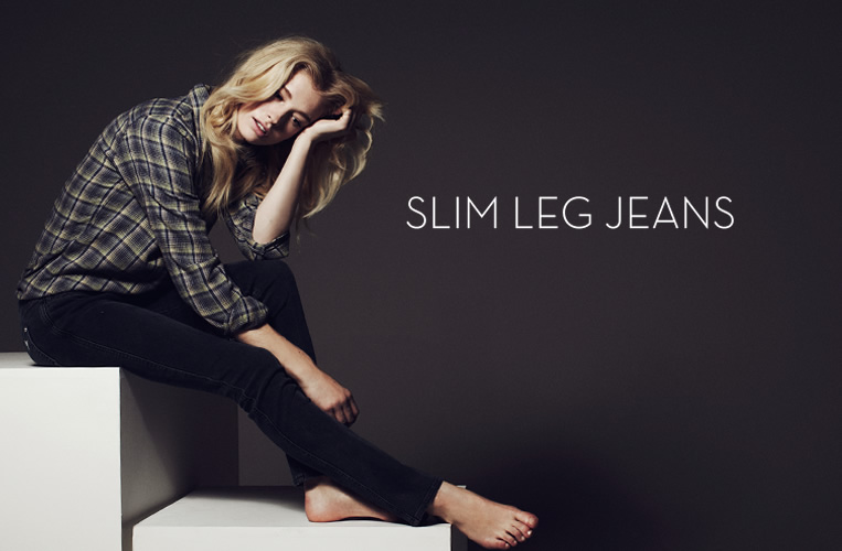 Slim Leg Jeans